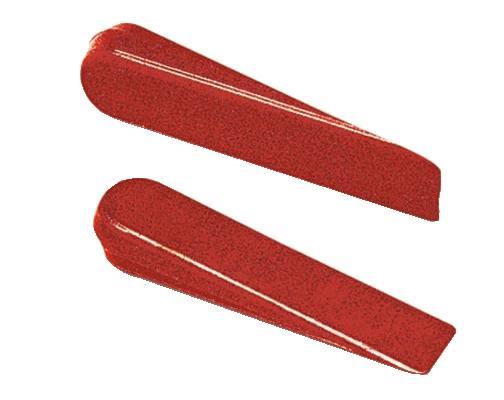 Cales écartement de 5mm LES INDISPENSABLES rouge sachet 500