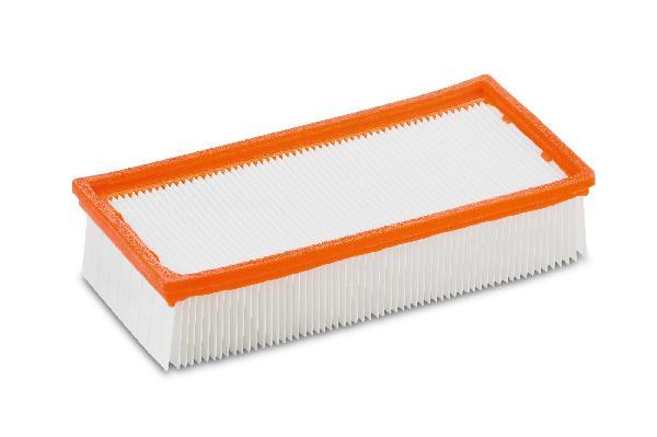 Filtre plissé plat pour aspirateur NT