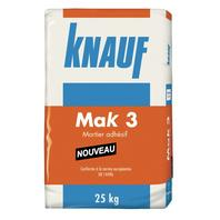 Mortier adhésif MAK3 sac 25kg