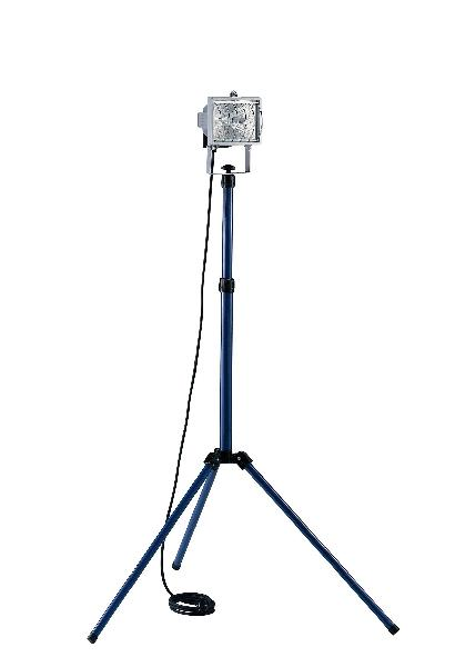 Projecteur halogène télescopique HO7RN-F 2x1,00 400W 3m IP 44