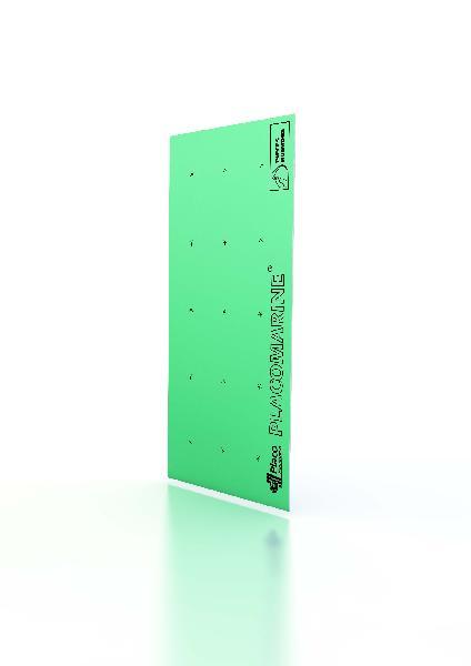 Plaque plâtre PLACOMARINE hydro bords amincis 13mm 280x120cm