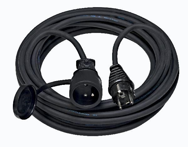 Prolongateur domestique 230V 3 G 1,5mm² 10m