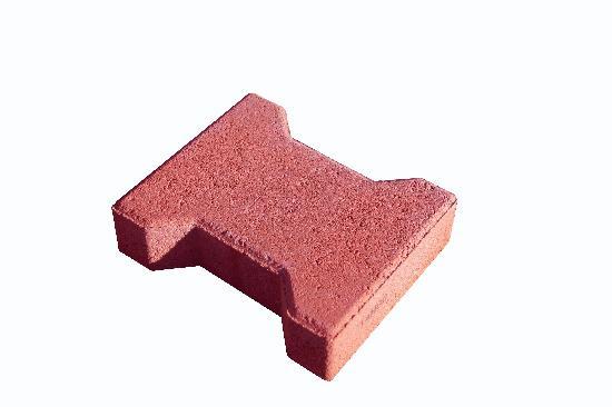 Pavé H Ep.6cm rouge