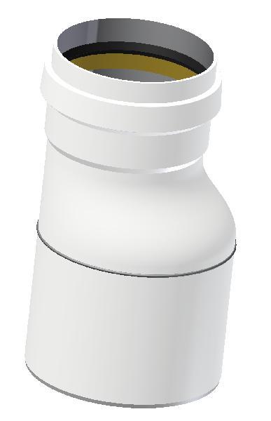 Réduction PP ECO+ PREMIUM SN12 Ø200/160mm MF