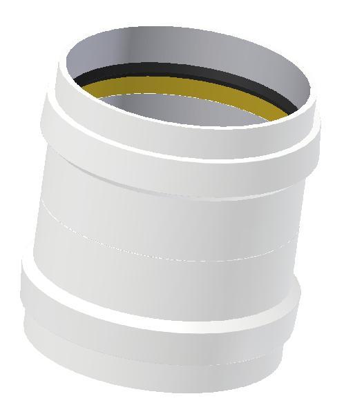 Manchon PP ECO+ PREMIUM coulissant SN12 Ø160mm