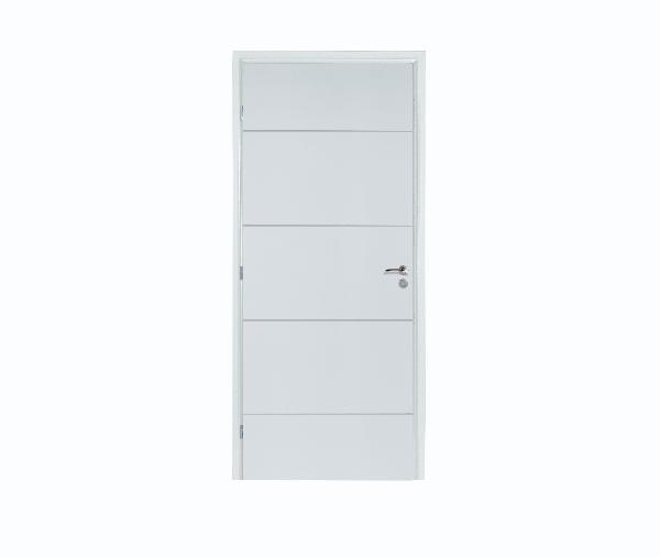 bloc porte alveolaire rec prepeint ketch 204x83 gp neolys. Black Bedroom Furniture Sets. Home Design Ideas