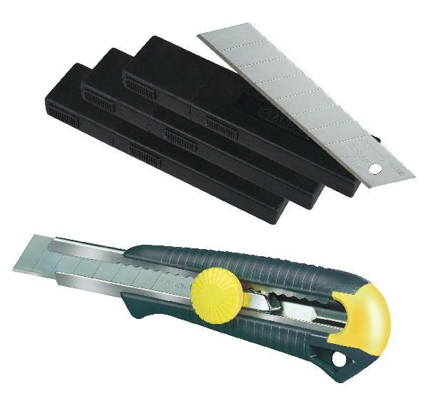 Lames de cutters FATMAX 18mm lot 30 + cutter offert