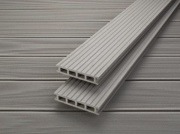 lame terrasse profi deck bois composite gris argente 28x150mm 4m. Black Bedroom Furniture Sets. Home Design Ideas