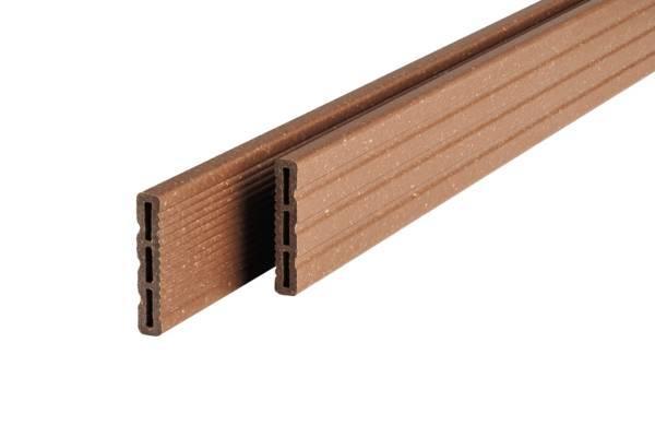 Couvre joint PROFI DECK bois composite brun automne 12x66mm 4m