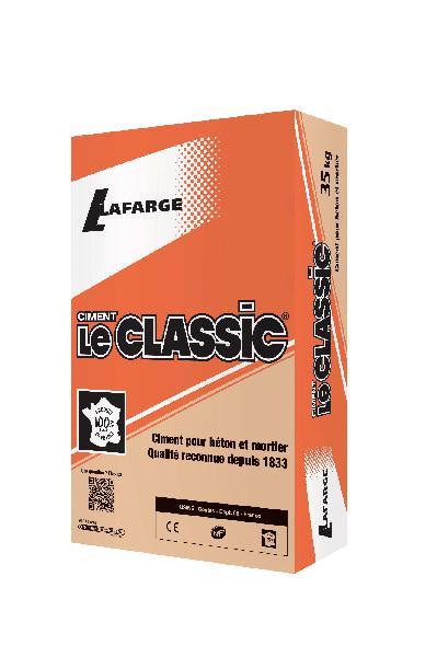 ciment le classic gris cem ii b ll cp2 32 5 n ce nf sac 35kg. Black Bedroom Furniture Sets. Home Design Ideas