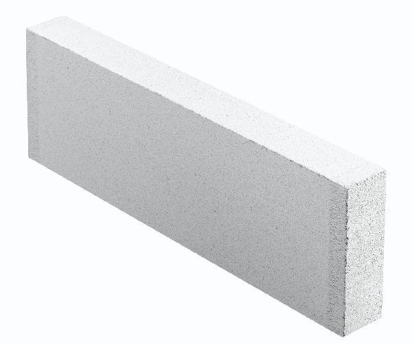 Carreau béton cellulaire lisse THERMOSTOP 5x25x62,5cm