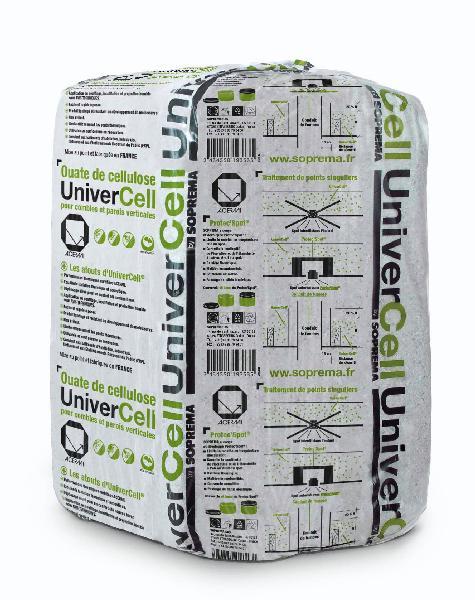 Isolant ouate de cellulose UNIVERCELL gris sac(s) 12.5kg
