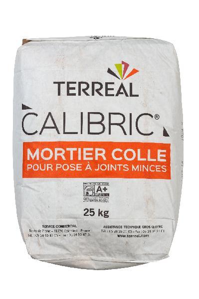 Mortier colle briques à joints minces CALIBRIC sac 25Kg