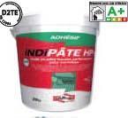 Colle pâte INDIPATE HP+ blanc haute performance seau 25kg D2TE