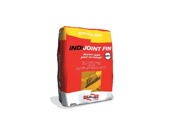 Mortier joint INDIJOINT FIN blanc sac 20kg
