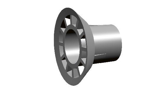 Embout conique PVC CONE K pour entretoise Ø26 mm sachet 250