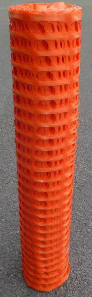 Balisage de chantier traité anti-UV ht.1m 50m PE orange