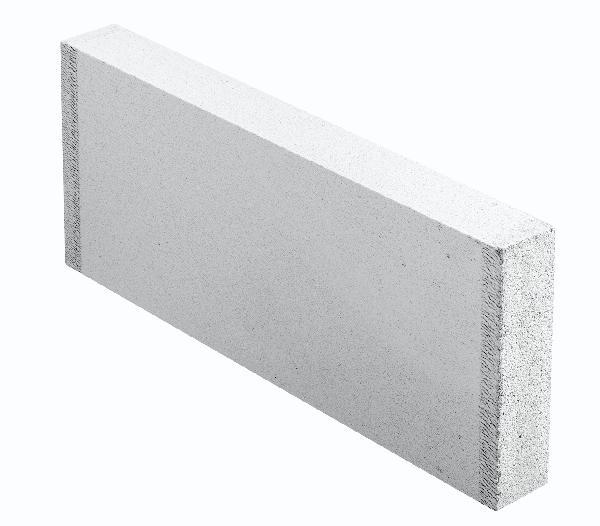 Carreau béton cellulaire lisse THERMOSTOP 7x25x62,5cm
