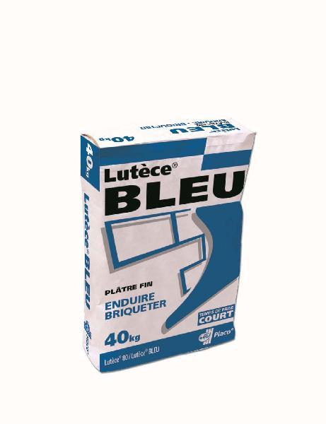 Plâtre traditionnel manuel LUTECE BLEU pour enduisage sac 25kg