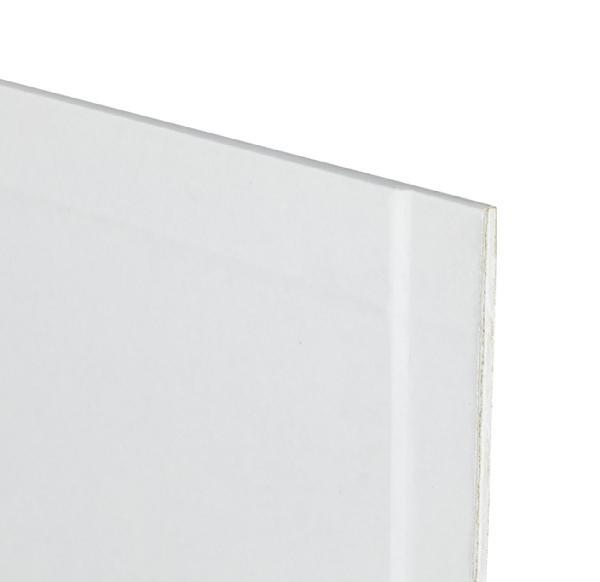 Plaque plâtre SNOWBOARD bords amincis prépeint 13mm 250x120cm
