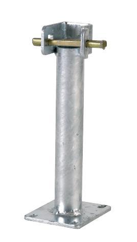 Pied de départ pour échafaudage M49