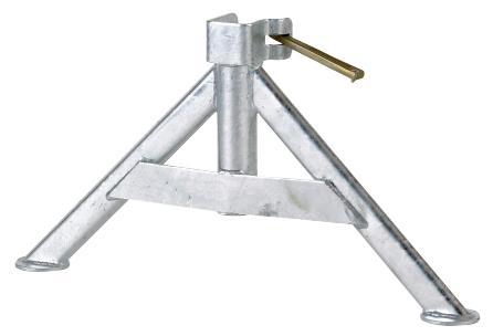 Pied triangle bas pour échafaudage M49