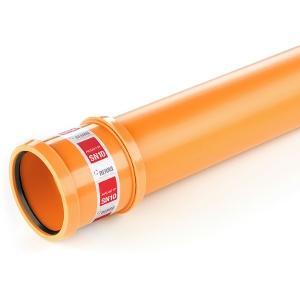 Tuyau PP AWADUKT PP SN10 Ø200mm 3m + joint et manchon