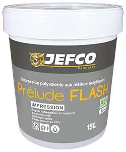 Impression intérieure PRELUDE FLASH acrylique blanc 4L