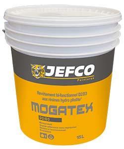 Revêtement façade MOGATEX hydropliolite blanc 15L