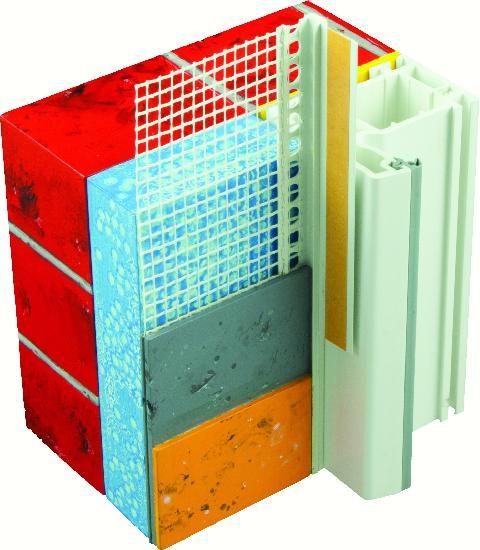 PROFILE PVC+TRAME PORTE ET FENETRE ENDUIT 6MM 2M40