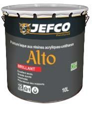 Peinture laque acrylique-alkyde ALTO brillant blanc 1L