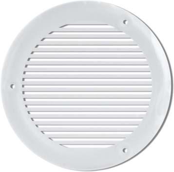 Grille ronde Ø103mm blanc