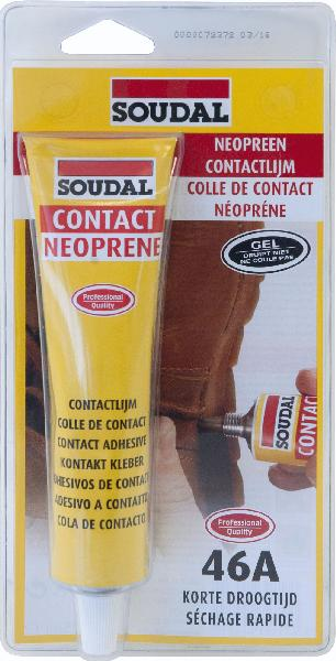 Colle néoprène gel 46A tube 125ml