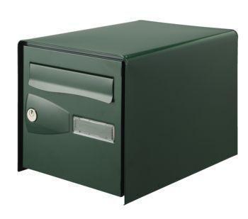 Boîte à lettres EOLYS double face verte garantie-7 ans