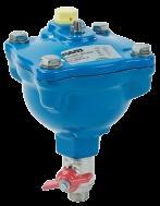 Ventouse automatique TYPE 111 PFA 25 filetage 26/34 avec robinet