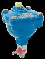 Ventouse automatique TYPE 111 PFA 16 filetage 26/34 avec robinet