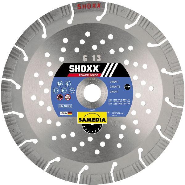 Disque diamant Ø230mm SHOXX G13