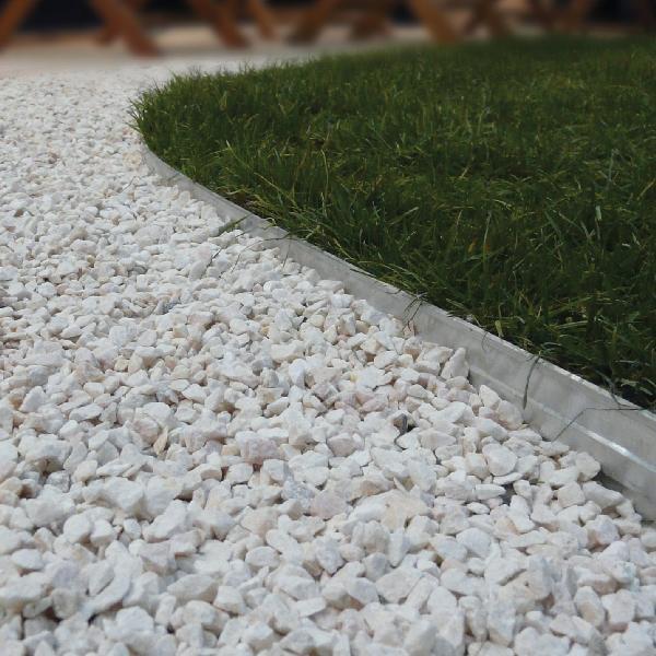 Bordure alu pour dalles et pavés 2,4m
