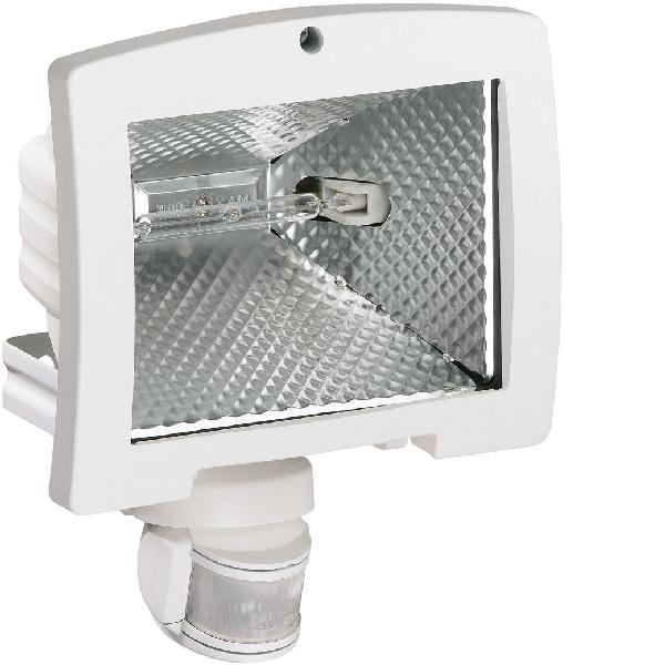 Projecteur halogène avec détecteur 500W 140° blanc