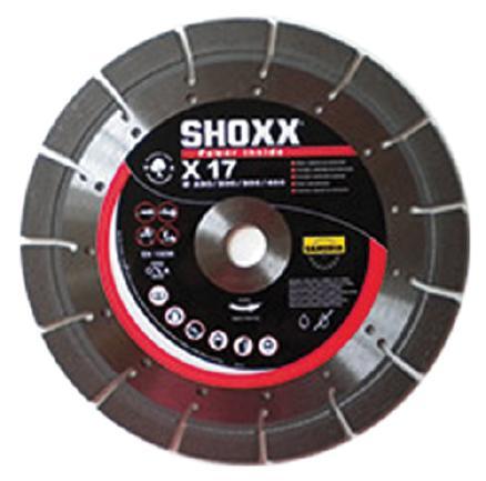 Disque diamant Ø230mm SHOXX X17