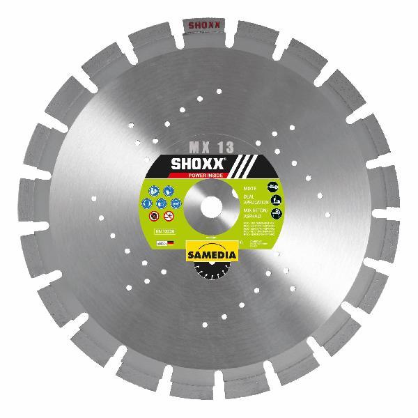 Disque diamant Ø350mm SHOXX MX13