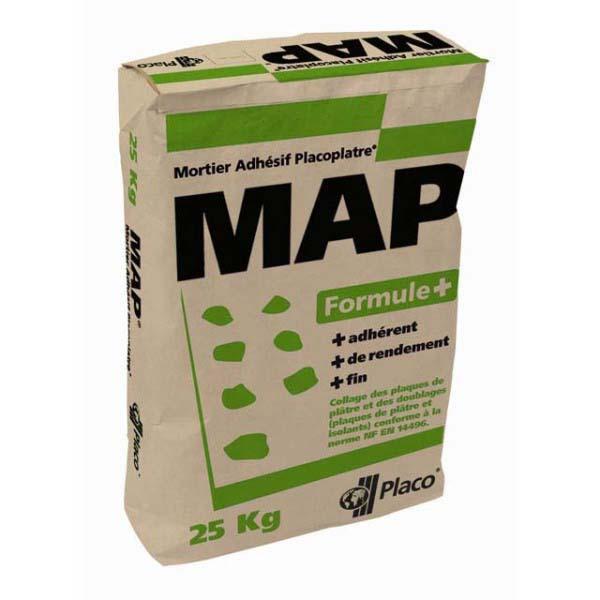 Mortier adhésif MAP+ sac 25kg