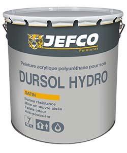 Peinture acrylique DURSOL HYDRO NF sols et murs teinte SF 4l