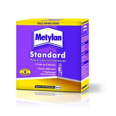 COLLE STANDARD PAPIERS PEINTS METYLAN BOITE 250G