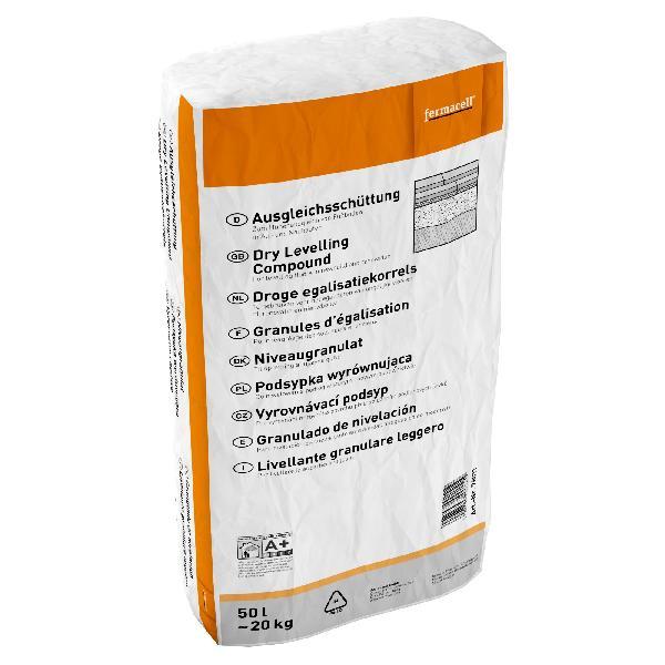 Granules d'égalisation FERMCACELL pour chape sèche sac 50L