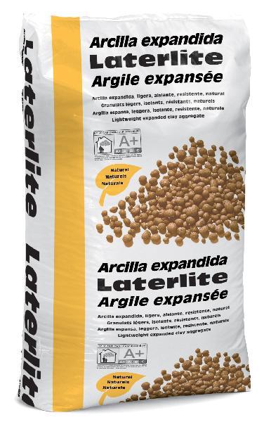 Granulat argile expansée pour chape sèche LATERLITE 3/8 sac 50L