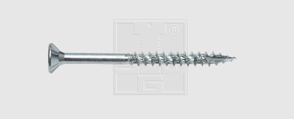 Vis FORMEL F ttap Ø6,0x100mm avec embout TT 30 sachet 100