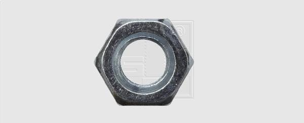 Ecrous 6 pans Ø10mm zingués boite 25