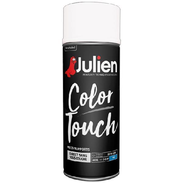 Peinture de décoration JULIEN blanc mat bombe 400ml