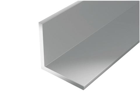 CORNIERE EGALE ALU ANODISEE ARGENT 10X10MM EP.1MM